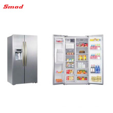 550L Frost Free Luxurious Low Noise Side By Side Refrigerator With Ice Maker And Water Dispenser