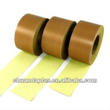 Non-stick PTFE revestido fita adesiva de fibra de vidro com certificado ROHS