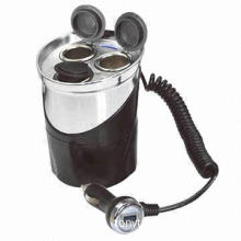 12V Cup-shaped Power Outlet with USB Port, Suitable for Vehicle/Boat/Vans, Motors and Commercial