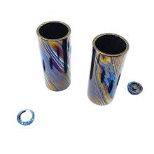 Tubo Timascus Mokuti Tubo de titânio Damasco tubo de titânio