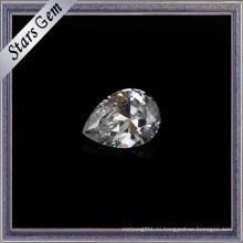 2х3мм небольшого размера груши вырезать синтетический кубический цирконий драгоценных камней