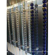 Poignée de poignée de porte en grosse boule de cristal