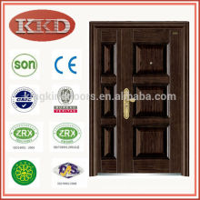 Surface Finished Anti Theft One and Half Steel Door KKD-317B