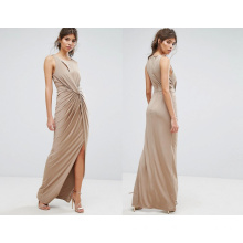 Sleeveless Evening Dress Long Dress