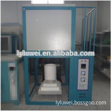 Large automatic lift aluminium scrap melting furnace