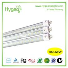 600 mm T8 fluorescent réglable tube conduit lumière plafonnier