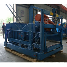 Drilling linear motion shale shaker with shaker screen