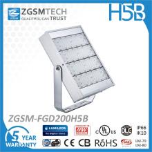 Modulare Design 200W LED Tennisplatz Beleuchtung mit Super Bright LED