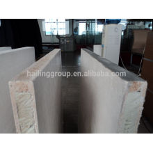 MgO EPS/EPS SIP sandwich panel for external wall