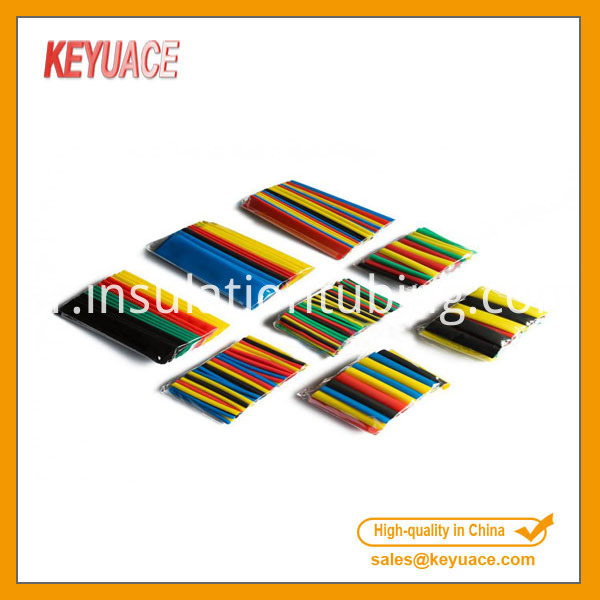 Coloured Colored Heat Shrink Shrinkable Tube Sleeve Set Kit