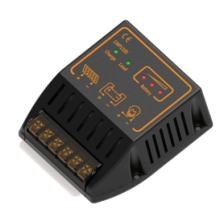 Controlador del sistema de energía de la batería solar PWM 12V 24V 20A con control de chips