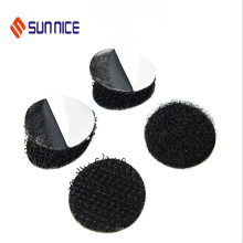 Adhesive Hook and Loop Dots Hook Loop Black Glue Dot