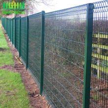 Powder Coat Roll Top wire Panel mesh Pagar