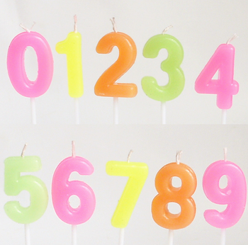 Cheaper birthday number candle