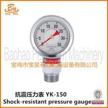 YK-150 Shock Resistant Pressure Gauge