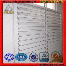Persianas automáticas de aluminio