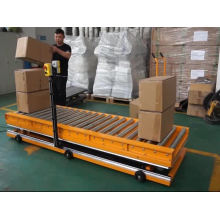 Yi-Lift  stationary scissor lift electric with roller