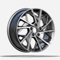 Gunmetal Finish Hyundai Replica Wheels