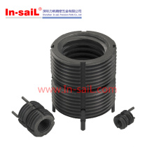 Black Oxide Self Tapping Threaded Inserts for Light Alloy