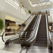 Commercial Escalator with 30 Degree 1000mm Step Width Vvvf Control