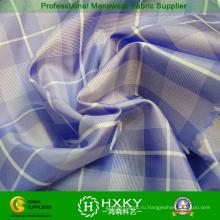 Пряжа окрашенная полиэфирной ткани с чеками для рубашки или накладки