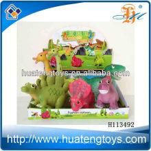 10 pouces dinosaures jouent des dinosaures en plastique avec un son BB pour enfant H113492