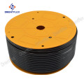 Custom bending high performance black flexible pa hose