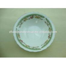 Cerámica de cerámica personalizada impresa porcelana cerámica cuencos
