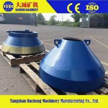 China Manufacturer High Manganese Cone Crusher Bowl Liner