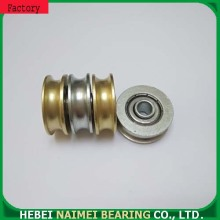 U groove Roller bearings steel pulley wheel