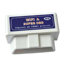 OEM/ODM мини-WiFi OBD2 диагностические инструменты Elm327 WiFi Obdii авто сканирования беспроводной сканер инструмент Elm327 для Ios и Android (белый)
