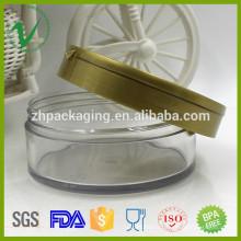 Pate en plastique à usage cosmétique en PET à haute qualité pour cosmétiques
