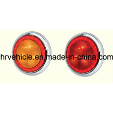 Lámparas laterales LED de forma redonda, lámpara de señal para camión