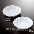 Chaozhou Factory direct wholesale cheap white ceramic dish