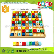 Preschool Educational Math Learning Toy Colorful Number Board Educational Games