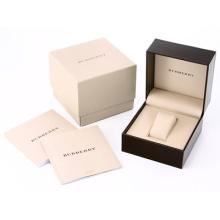 Caja de reloj de papel de cartón con almohada