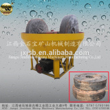 YM1300 Model 2T/H Gold Grinding Wet Mill Grinding Pan Mill