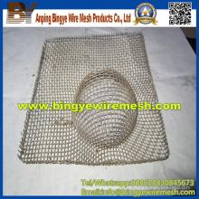 Procesamiento profundo de malla de alambre de redes en forma especial
