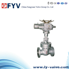 API6d / 600 Cast Steel Electric Actutor Gate Valve
