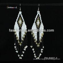 seed bead earring