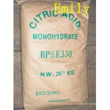 Ácido cítrico de alta calidad anhidro o monohidrato