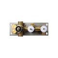 Conjunto de torneira termostática de bronze de duas funções HIDEEP