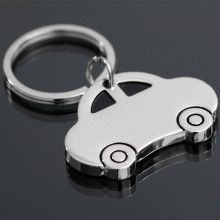 Stainless Steel Keyring Car Keychain