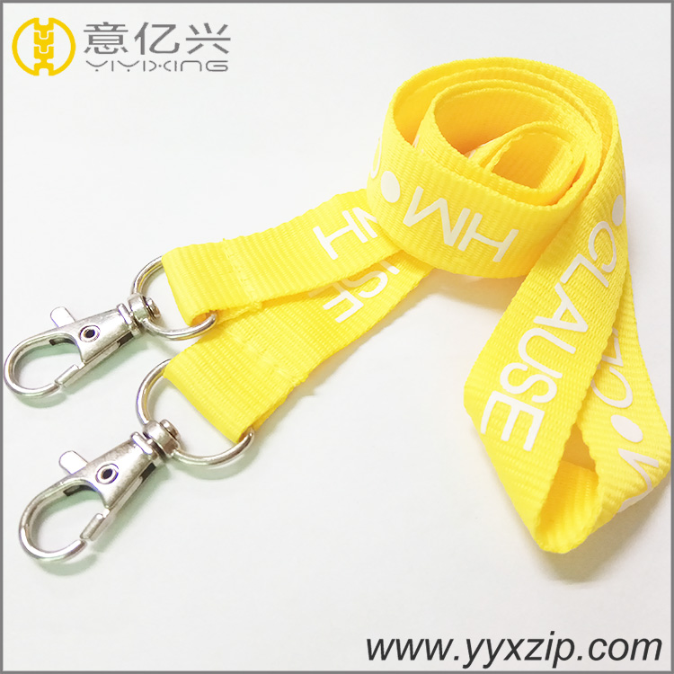 Silkscreen Printed Card Holder Lanyard