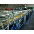 De Buena Calidad WPC Plastic Building Plate Extrusion Machinery (línea de producción, fabricación de maquinaria)