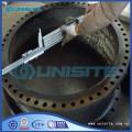 Welding steel bend fittings
