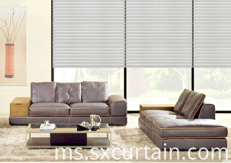Jacquard Roller Blackout Curtain Shade Dyed