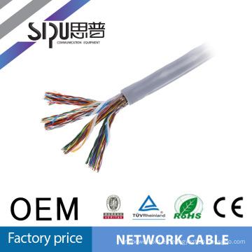 SIPUO caliente vender a precios de fábrica del par de la lan de cat5e cable 100