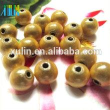 Venta al por mayor de 4 mm a 30 mm cuentas de milagro de oro redondo 500 g