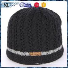 Nuevo y caliente fuerte empaquetado niña linda sombrero de punto con buena oferta